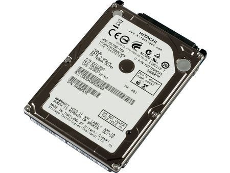 Hitachi Travelster 750GB Laptop HDD