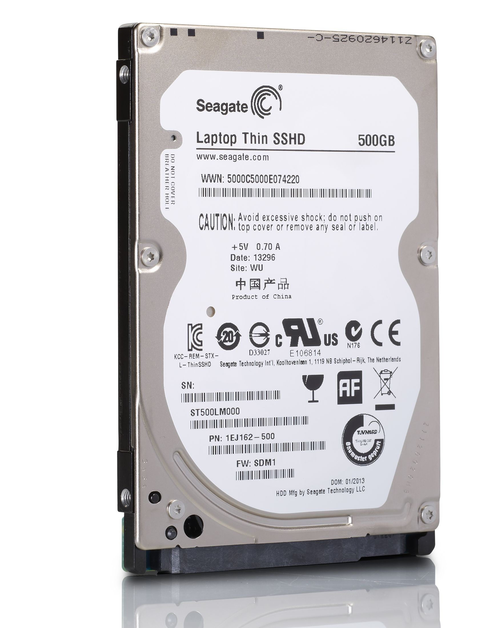 SEAGATE 500GB Laptop HDD ST500LM000