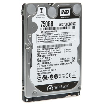 WD Black 750GB Desktop HDD