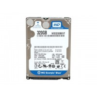 "WD WD3200BEVT Scorpio Blue 320GB 2.5"" Laptop Hard Drive 5400RPM"