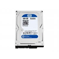 "WD Blue 500GB 3.5"" Desktop internal Hard drive 7200 RPM WD5000AAKX"