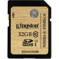 Kingston Ultimate 32GB SDXC 90MB/s 600X UHS-I Class SD Memory Card SDA10/32GB
