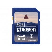 KINGSTON 8GB SDHC Memory Card For Digital Camera Camcorder SD Card