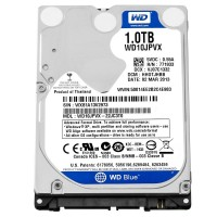 "WD WD10JPVX Blue 1TB SATA 2.5"" Laptop Hard Drive HDD 5400 RPM"